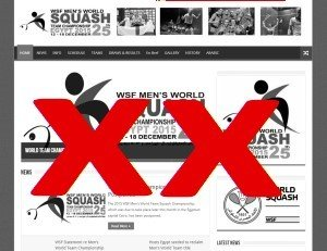 2015 WSF Men's World Teams Cancelled