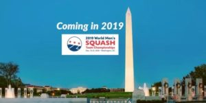 WSF Men's Worlds 2019 heads for Washington DC